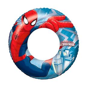Boia-Inflavel-Circular-Infantil-56cm-Homem-Aranha-97346