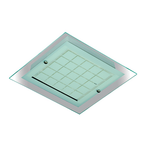 Plafon-Quadrado-2-Lampadas-E27-Vidro-40x40-Quadriculado-1098-Emalustres-39234