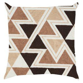 Almofada-Cheia-Summer-Triangular-Marrom-43x43-Proxima-Textil---97804