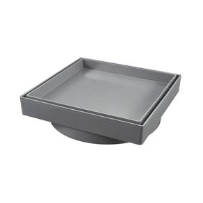 Ralo-Invisivel-15x15cm-Cinza-Estrela-98082