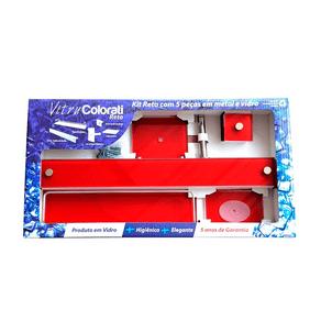Kit-Acessorios-para-Banheiro-Metal-e-Vidro-Colorati-Vermelho-5-Pecas-VB-Cristais-86314