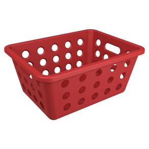 Cesta-Organizadora-Multiuso-Vermelha-8-2x14-2x18-6cm-Brinox-95071