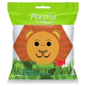 Esponja-de-Banho-Ponjita-Infantil-Animais-Sortidos-3M-98774