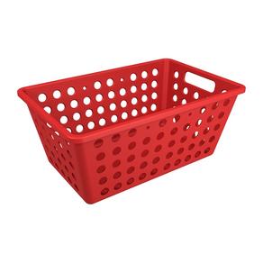 Cesto-Organizador-Multiuso-Grande-Vermelho-Coza-Brinox-95072