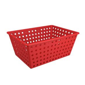 Cesto-Organizador-Multiuso-Maxi-Vermelho-Coza-Brinox-95073