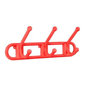 Gancho-de-Parede-3-Ganchos-Plastico-Vermelho-Atlas-97490