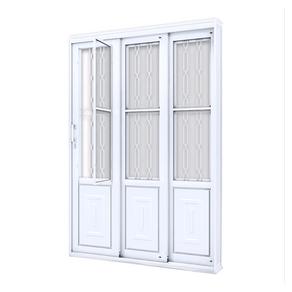 Porta-de-Correr-Grande-Mosaico--213X150--Lado-Esquerdo-17231-Lucasa-90747
