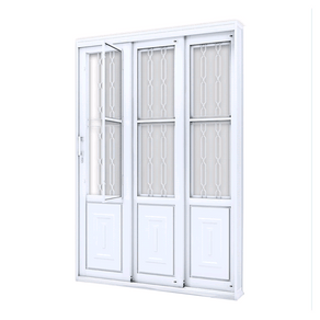 Porta-de-Correr-Grade-Mosaico--213X150--3-Folhas-Lado-Direito-17232-Lucasa-90746