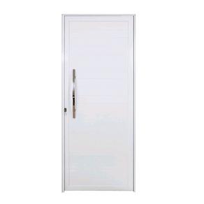Porta-Lambri-Aluminio-Boldie-Lado-Direito--215X90--Com-Puxador-Branca-Prado-Aluminios-89960