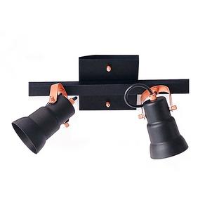 Spot-Trilho-para-2-Lampadas-Bivolt-25W-Preto-e-Cobre-Emalustres-98016-2