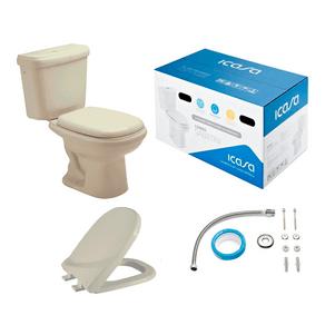 Kit-Vaso-Sanitario-com-Caixa-Acoplada-e-Assento-Areia-IP51-IC54-Icasa-98358