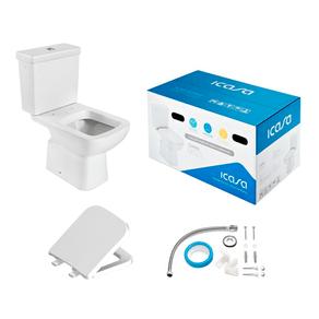 Kit-Vaso-Sanitario-com-Caixa-Acoplada-e-Assento-Misti-Branco-Icasa-97130