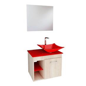 Conjunto-Gabinete-Lavatorio---Espelho-e-Cuba-5034-Mezzo-Bianco-Vermelho-VB-Cristais-88470