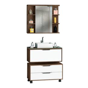 Conjunto-Gabinete-para-Banheiro-c-Cuba---Armario-c-Espelho---Gaveteiro-Vita-80cm-Premium-Avelato-Branco-MM-Gabinetes-97570