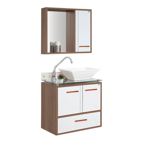Conjunto-Gabinete---Armario-para-Banheiro-Hortensia-60cm-Tampo-de-Vidro-Cobre-Carvalho-Branco-MM-Gabinetes-97632