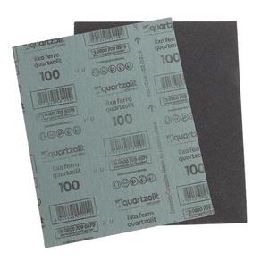 Folha-de-Lixa-Ferro-G100-Cinza-Quartzolit-98945