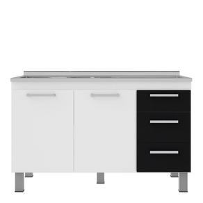 Gabinete-para-Cozinha-53x114cm-Branco-e-Preto-Cerocha-96839