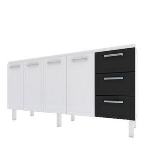 Gabinete-para-Cozinha-Apolo-Flat-Branco-e-Preto-200cm-Cozimax-92914