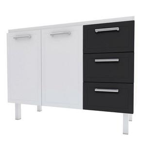 Gabinete-para-Pia-Apolo-Flat-120cm-Branco-e-Preto-Cozimax-92911