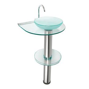 Kit-Lavabo-com-Cuba---Espelho-Cris-Inox-917-Transparente-e-Aluminio-Crismetal-97968