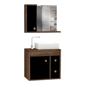 Conjunto-Gabinete---Armario-para-Banheiro-Lyon-55cm-Premium-Carvalho-Preto-MM-Gabinetes-97578