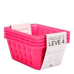 Kit-Cesta-Pequena-One-Coza-Leve-4-Pague-3-Rosa-Brinox-95067
