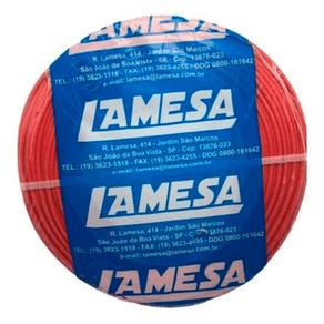 Cabo-Flexivel-Lameflam-250mm-100m-750V-Vermelho-Lamesa-99337