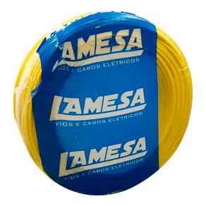 Cabo-Flexivel-Lameflam-250mm-100m-750V-Amarelo-Lamesa-99339