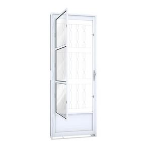 Porta-de-Giro-de-Aco-com-Postigo-e-Grade-Mosaico-215X80X65-16122-Lado-Direito-Riobras-91166